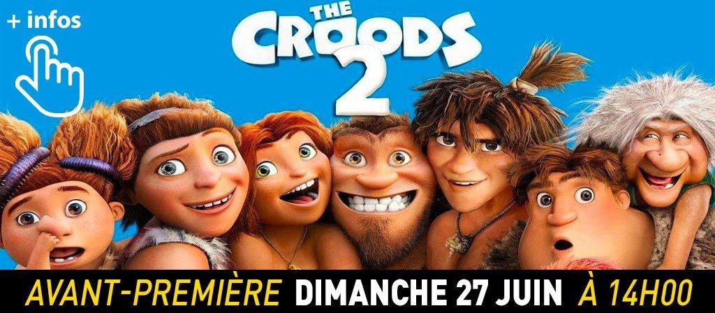 actualité AVP Croods 2